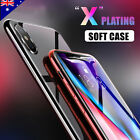 iPhone X 8 6S 6 7 Plus Case Ultra Slim Crystal Clear Gel Cover for Apple