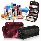 Multifunction Travel Cosmetic Bag Makeup Case Toiletry Jewelry Organizer Tool