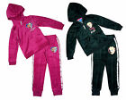 Girls Disney Frozen Anna Elsa Queen of Snow Velour Tracksuit 4 to 10 Years