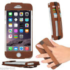 Genuine Real Leather Hand Strap Pouch Case Cover For New Apple iPhone 6s/6