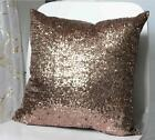 Shiny Glitter Sequins Cushion Cover Throw Pillow Case Comfy Home Decoration - LD