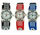 Ravel Boys Childrens 3D Football Watch Easy Fasten Xmas Gift For Kids R1507