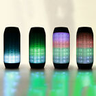 Portable PULSE LED Light W/ NFC Stereo Wireless Bluetooth Speaker Cheer Party