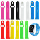 Silicone Sport Band Replacement Strap Wrist Bracelet Fitness for Apple Watch