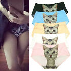 Cartoon Sexy Pussycat Panties Briefs Anti Emptied Cat Meow Star Cat Pants Cute