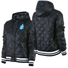 Nike Ad Varsity Jacket Womens Girls Quilted Coat Bomber Navy (418562 452 R)