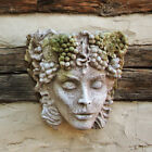 Woman of Seasons Wall Planter for Outdoor Garden Use by Orlandi Statuary-FS69596