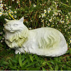 Cat Outdoor Garden Statue by Orlandi Statuary - Faux Conc...