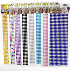 New Self Adhesive Glitter Crystals Gems Jewels Stick On Diamante Decor Sticker