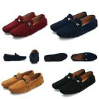 Classic Men Suede Driving Moccasin Loafers Slip on Leisure Casual Shoes