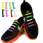 12pcs Colorful No Tie Shoelaces Elastic Silicone Shoe Lace For Women Men Shoes S