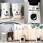 Large Baby Toys Storage Canvas Bags Cute Bear Batman Laundry Hanging Bag Pouch