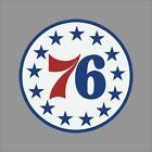 Philadelphia 76ers #5 NBA Team Logo Vinyl Decal Sticker Car Window Wall Cornhole on eBay