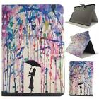 Painting Leather Case Cover Stand Manget Cover For Amazon Kindle Fire HDX 8.9