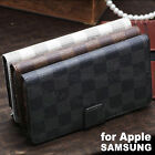 New Wallet Flip PU Leather Phone Case Cover For Apple iPhone Samsung Galaxy