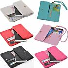 For Alcatel Allview Asus multifunction universal wallet case pouch cover sheld