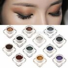 12 Colours Palette Vogue Make Up Eyeshadow Earth Natural Smoky Eye Shadow Cream