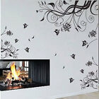 Grande Vite Fiore Farfalla Wall Stickers / Decalcomania II