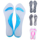 Gel Pads Arch&Metatarsal Support Massage Insoles For High-Heels Sandal Shoes NEW