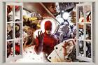 DAREDEVIL 3D Window View Decal Graphic WALL STICKER Home Art Mural Marvel H230