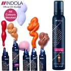 Indola Colour Styling Mousse & Temporary Hair Colour  200ml ALL COLOURS STOCKED