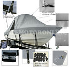 Key West 244 CC T-Top Hard-Top Fishing Storage Boat Cover All Weather