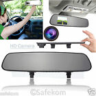 "2.7"" HD 1080p Dash Cam Video Recorder Rearview Mirror Car Vehicle LCD Camera DVR"