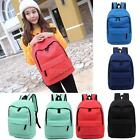 Women Backpack Shoulder School Bag Girl Travel Satchel Rucksack Bookbag H6Y8
