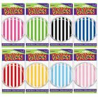 "STRIPES 18"" Round FOIL BALLOONS {Unique} (Birthday/Party/Decoration)"