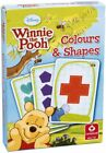 DISNEY WINNIE THE POOH CHILDRENS CARD GAMES COLOURS AND SHAPES PAIRS GAME