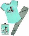 Womens Official Disney Bambi & Thumper Gift Pack Pyjamas Plus Sizes 8 to 22