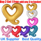 "18"" Foil Balloon Fashion Tick Heart Balloons For Birthday Wedding Party Love"