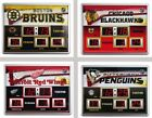 "Choose Your NHL Team 19x14"" Scoreboard Digital Wall Clock w/ Date & Temperature"