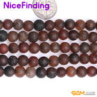 Natural Round Crackle Dream Agate Gemstone Beads for Jewelry Making 13'' 6-18mm