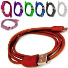 COLOURED USB CHARGING/SYNC CHARGER CABLE LEAD WIRE FOR BLACKBERRY 9320 CURVE
