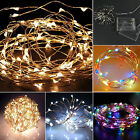 String Fairy Light 20/30/40 LED Battery Operated Xmas Lights Party Outdoor 2-4M