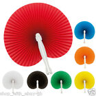 5 x Paper Hand Fan Folding Wedding Party Favor Decoration Colour Chinese Wedding