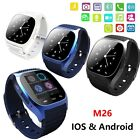 M26 Waterproof Smart Wrist Watch Phone Mate For Android Samsung iOS Apple iPhone