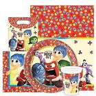 Disney Pixar INSIDE OUT Party Tableware Range(Kids/Birthday/Napkins/Plates/Cups)