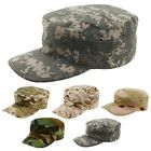 US INFANTRY Cadet Military Army Tactical Flattop Hat Patrol Fidel Cap Camouflage