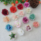 15 colors wholesale wedding flowers decorate simulation carnation 10 20 50pcs