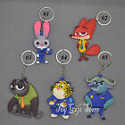 Zootopia Nick Wilde Judy Hopps Clawhauser Cheetah key chains Party Favors