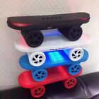 Cool Skateboard Hover Board Wireless Bluetooth Speaker With LED Light TF FM