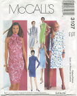 McCalls 3107 Misses Pullover Dresses Sewing Pattern ***