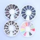 Rhinestones Wheel Sticker Drills Tips UV Manicure Acrylic Nail Art Decor