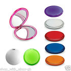 Wholesale 10pc Double Handbag Plastic Makeup Compact Mirror 8 Bright Colours