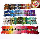 50/100/200X Different Colors Cross Stitch Thread Embroidery Floss Sewing Skeins