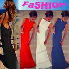 Sexy Women Dress Prom Ball Cocktail Party Dress Formal Evening Gown Long 2016 BS