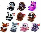 TY Peek A Boos Mobile Phone Holder and Cleaner - Beanie Boo Plush Soft Toy Teddy
