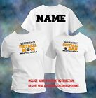 Football Will Yell (Pick Family) & Personalize T-Shirt Adult Sizes XS - 6XL_